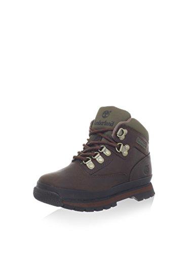 Timberland Unisex-Kinder Euro Hiker Chukka Boots, Braun (Medium Brown Full Grain), 34 EU