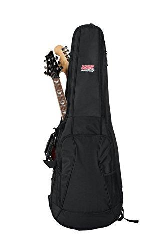 GATOR ゲーター エレキギター用 ギグバッグ 4G Series GFLEX20mmパッド GB-4G-ELECX2 (2本収納タイプ) 【国内正規品】