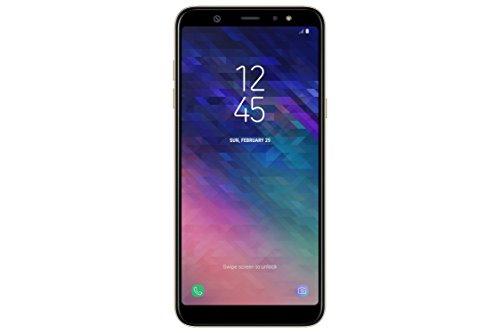 "Samsung Galaxy A6 Plus Smartphone, 6.0"", NanoSIM, 32 GB, 4G/LTE Cat6 300/50 Mbps, Processeur octo-coeur 1.8 GHz, Dual SIM, Or - Version Italienne"