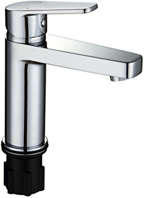 LHbox Das Kupfer Waschbecken Wasserhahn Warmes und Kaltes Einloch Badezimmer Waschbecken Waschtisch Armatur gesenkt