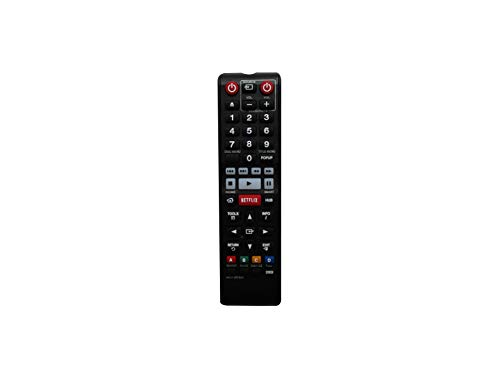 Hotsmtbang Replacement Remote Control for Samsung AK59-00177B BD-H6500 BD-H6500/ZA BD-H6600 BD-H6600/ZA Smart 3D Blu-ray Disc Player