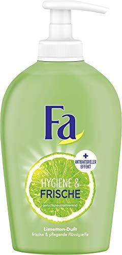 FA Flüssigseife Hygiene & Frische mit Limetten-Duft, 6er Pack (6 x 250 ml)