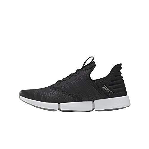 Reebok Women's DailyFit Walking Shoe, Black/White, 9.5