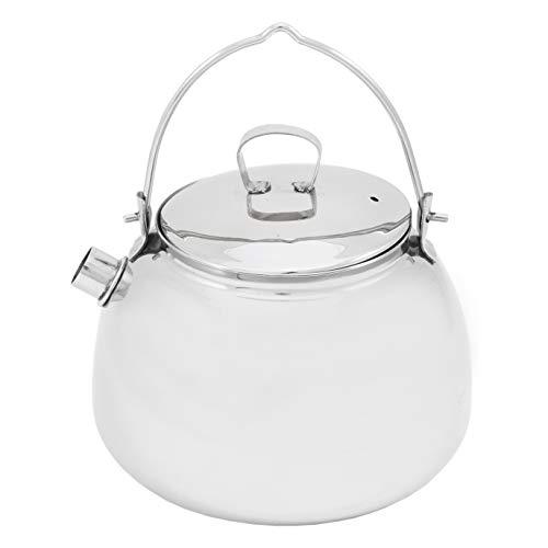 MUURIKKA Wasserkessel aus Edelstahl 0,8l für Grill, Gas, offenes Feuer und alle Otdoor-Kochgelegenheiten