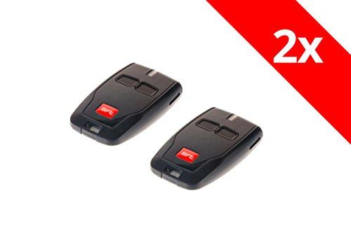 2 x BFT Handsender Mini 2-Befehl B RCB02 Funksender 433,92 Mhz Garagentor Fernbedienung