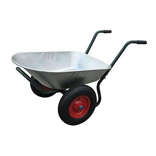 Tidyard Gartengerät Zweirad-Schubkarre 66 L