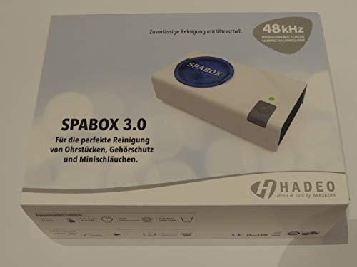 SPABOX 3.0 Hadeo 3.0 Ultraschallreiniger für Hörgeräte Otoplastiken