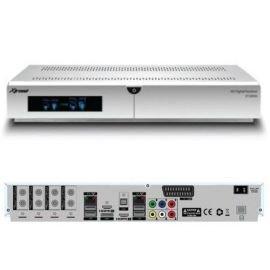 Xtrend ET 10000 HD 2x DVB-S2 Tuner weiss Linux Full HD HbbTV Receiver inkl. 2000 GB Festplatte