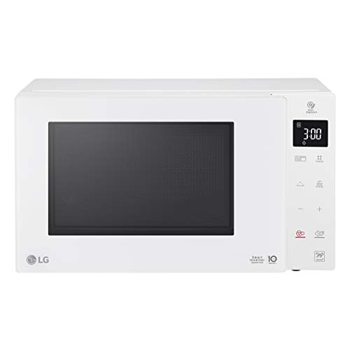 LG - Micro-ondes Grill Smart Inverter blanc