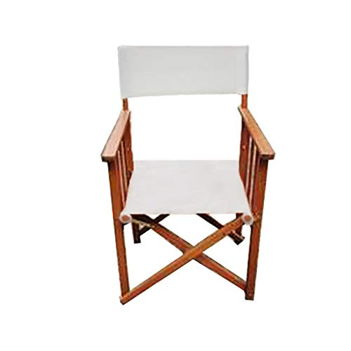 DCCYZ-YJ New Super High Director Chair Folding Tragbare Massivholz Liegestuhl Bar Rückenlehne Büro Freizeit Angeln Strand Stuhl Sketch Chair Shooting Prop Stuhl H92cm
