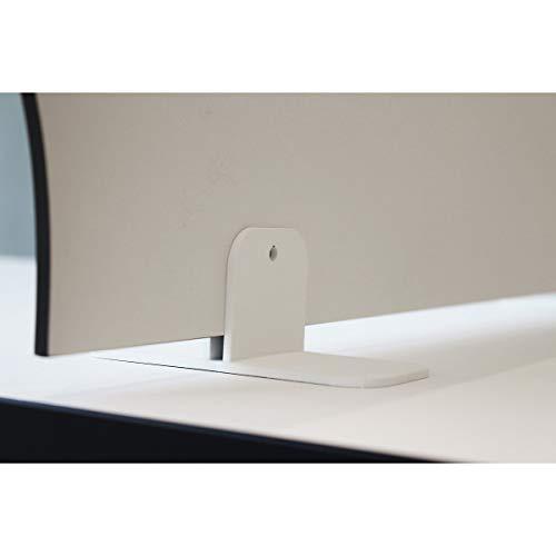 Halterungen für Shield Schreibtisch-Trennwände | Freistehend | Schutzwand Raumtrenner Raumteiler Stellwand