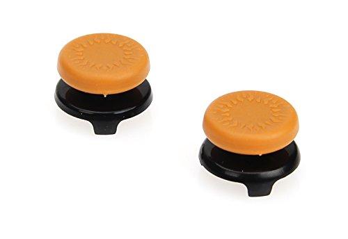 AmazonBasics - Tapones para mando de Xbox One, 2 unidades, Naranja