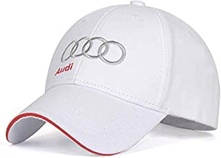 JDclubs Ford Logo Embroidered Adjustable Baseball Caps for Men and Women Hat Travel Cap Car Racing Motor Hat Black