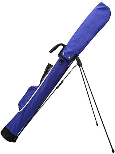 TUHFG Carrito de Golf Bolso de Golf, Bolsa de Golf Ligero, Bolsas de Bola de Club de Golf a Prueba de Agua a Prueba de Agua, Bolsa de Golf Ideal para Campo de Golf y Viajes, Rojo (Color : Blue)