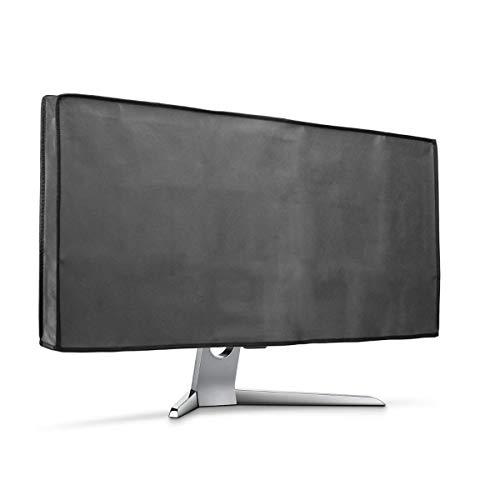 "kwmobile Hülle kompatibel mit 34-35\"" Monitor - PC Bildschirm Schutzhülle - Computer Cover Case - Dunkelgrau"
