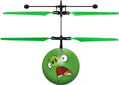 Rovio Angry Birds Movie The Pigs IR UFO Ball Helicopter Angry Birds Movie The Pigs IR UFO Ball Helicopter