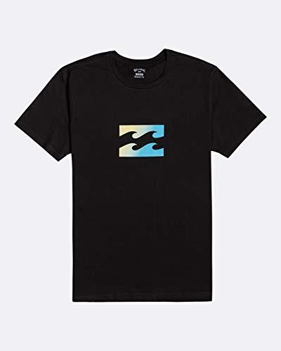 Billabong NA Pali SAS, Hossegor Herren T-Shirt Team Wave - T-Shirt Für Männer, Black, L, U1SS51