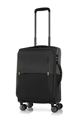 [サムソナイト] スーツケース ストラリウム スピナー 55/20 エキスパンダブル 機内持ち込み可 保証付 36L 55 cm 3kg ブラック