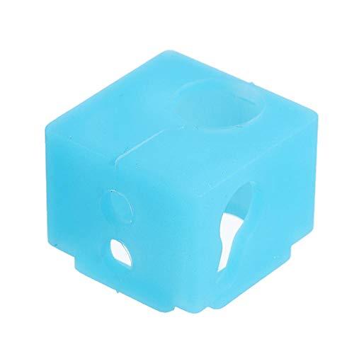 Drucker-Zubehör, BP6 Silikonhülle, blaue Heizblockhülle für 3D-Drucker, 5 Stück