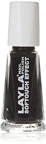 Layla Cosmetics Softtouch Effect nagellak, noir touch, 1-pack (1 x 0,01 L)