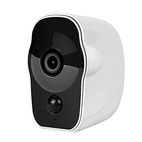 QLPP 1080P HD con Pilas de cámaras de Seguridad, WiFi Recargable de...