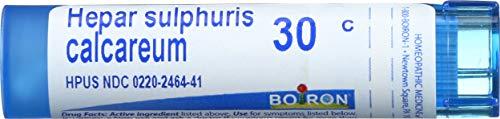 Boiron - Hepar Sulphuris Calc 30c, 30c, 80 pellets