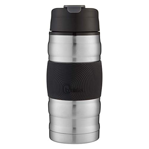 Bubba Brands Hero Tumbler, 12 oz, Black, Stainless Steel, Lilac