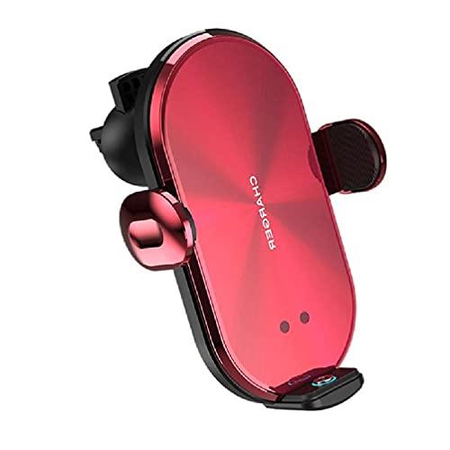 Soporte de coche inalámbrico de 10 W, con 3 conectores magnéticos para teléfonos móviles iphone, teléfonos móviles