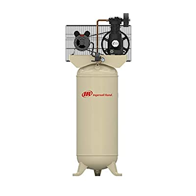SS5 5HP 60 Gallon Single Stage Air Compressor (230V, Single Phase) by Ingersoll-Rand