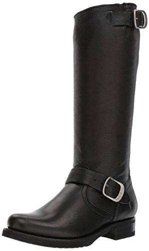 FRYE Women's Veronica Slouch Boot, Black Soft Full Grain, 7 M US