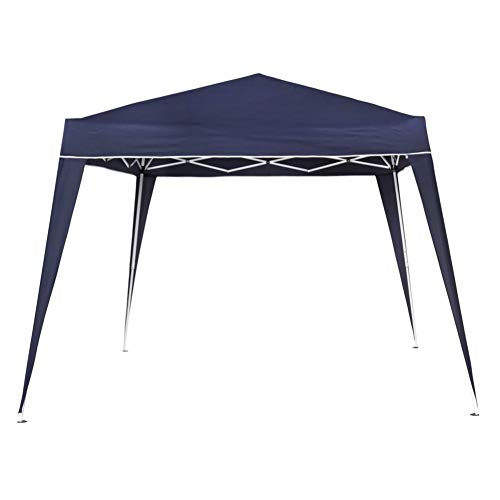 Aktive - Cenador plegable de 300 x 300 x 240 cm, poliéster, color azul (ColorBaby 53859)