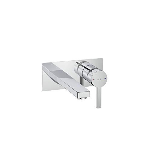Mezclador grifo monomando empotrable para lavabo, serie Naia, 16 x 6,2 x 16 centímetros, color cromado (Referencia: A5A3596C00)