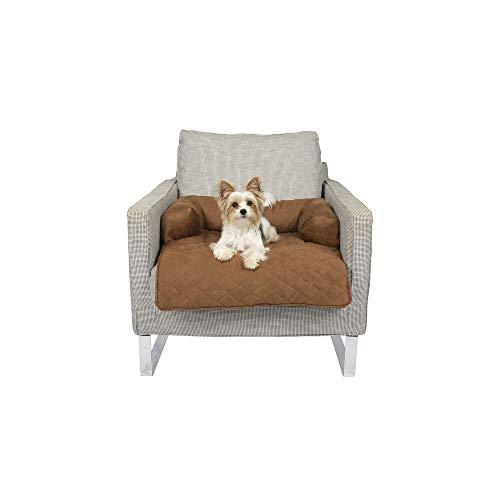 PetSafe CozyUp Chair Protector for Pets - Waterproof Chair Cover for Dogs and Cats - Stain-Resistant Micro-Suede Fabric - Machine Washable - Furniture Protection