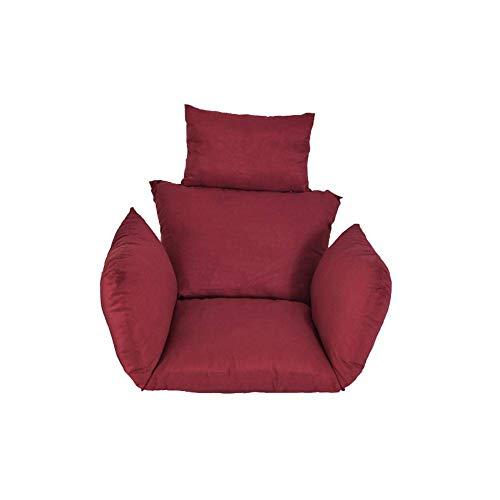 CYQ Cojines para sillas de Hamaca, Columpios para Grandes tamaños, colchones Colgantes para Silla de ratán, respaldos para Silla Colgante con Fondo Grueso con Cojines