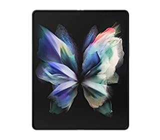 SAMSUNG Galaxy Z Fold 3 5G Factory Unlocked Android Cell Phone US Version Smartphone Tablet 2-in-1 Foldable Dual Screen Under Display Camera 256GB Storage, Phantom Silver (B097CP68XB)   Amazon price tracker / tracking, Amazon price history charts, Amazon price watches, Amazon price drop alerts