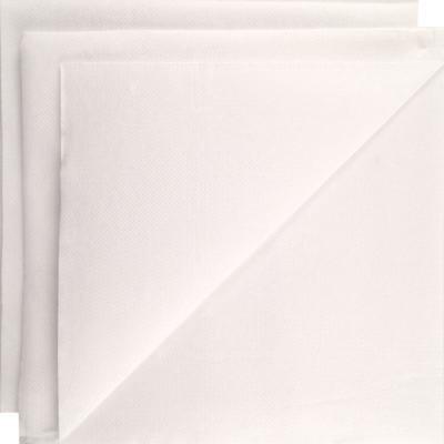 Serviette papier micropointe blanche 38x38cm par 40 – Lot de 3
