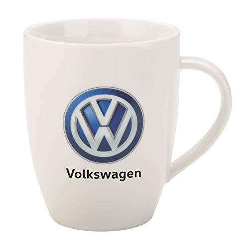 Original VW Tasse, Kaffetasse mit Volkswagen Logo, Kaffeebecher mit VW Emblem
