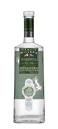 Martin Miller's Summerful Gin - Ginebra Premium - Botella 700 ml