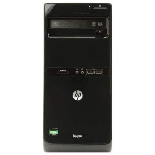 HP Pro 3515 Microtower PC (4GB RAM, 500GB HDD, AMD Dual-Core A4-5300 APU Processor, Windows 10 Pro (Renewed)