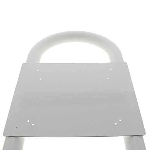 BURG-WÄCHTER, Rohrbogen Briefkasten-Ständer, Aluminium, Rondo 145 W, Weiß - 3