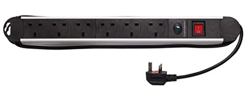 Powerfix Profi 8503000042 - Cable alargador de Aluminio (6 Salidas, 1,5 m)