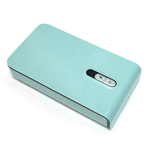 YANGYA Esterilizador para Smartphone Ultravioleta Caja de Esterilización Multifunción Portátil Máscara Pequeña Esterilizador para Auriculares