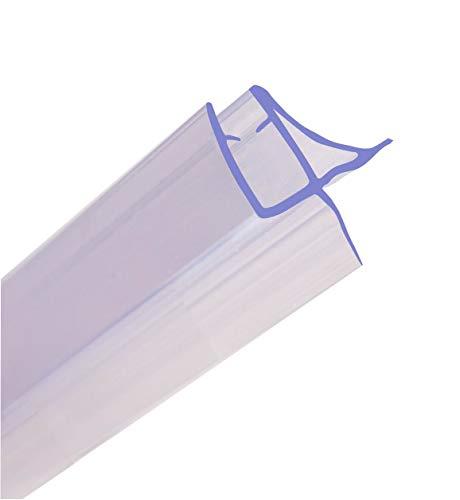 HNNHOME Dichtungsband für Duschabtrennungen, Badewannen, Duschtüren, 870mm lang, einzigartiges Design, für 4 - 6mm dickes Glas mit einer Lücke bis 11mm
