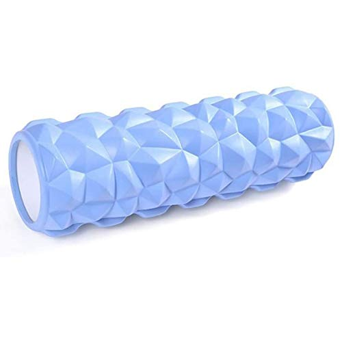 GTYMFH Foam Roller, Rodillo De Espuma for Terapia De Masaje, for Masajes Muscular Fitness Pilates Yoga, La Mejor Herramienta for Deportivo Masaje (Color : Blue)
