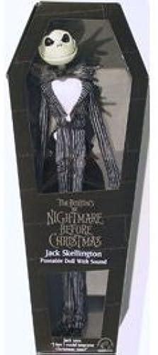 barato Tim Burton's Nightmare Before Christmas - Jack Jack Jack Skellington Posable Doll by applause  últimos estilos