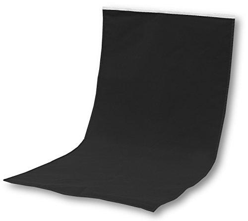 撮影ボックス予備シート ロールタイプ 背景布 (60cm, ブラック)