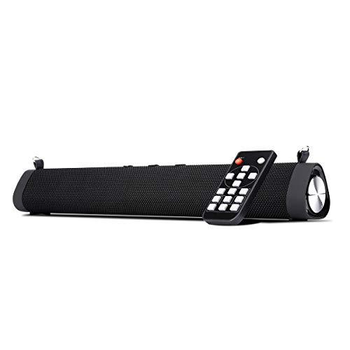 GJJSZ Barra de Sonido subwoofers incorporados y Bluetooth5.0 - Negro, conducción Impermeable al Aire Libre portátil con Personas