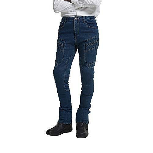 MAXLER JEAN Biker Jeans for men - Slim Straight Fit...