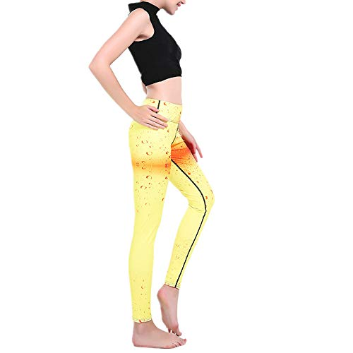 nonbranded vrouwen bedrukte yoga broek mode outdoor legging print ademende hoge taille grote grootte outdoor panty's 7