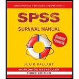 SPSS Survival Manual - Step by Step Guide to Data Analysis Using SPSS for Windows (Version 15) (3rd, 08) by Pallant, Julie [Spiral-bound (2007)]